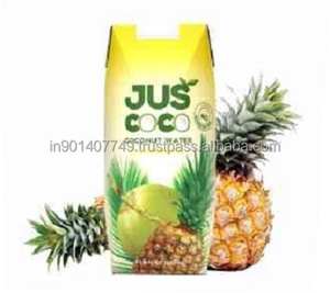 Coconut water with pineapple healthy juice in 330 ml