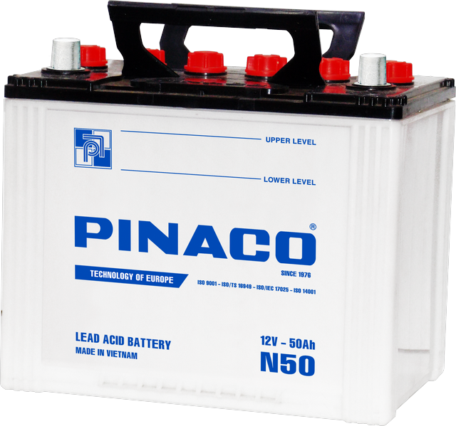 N50 (12V - 50Ah) Dry Charged Battery