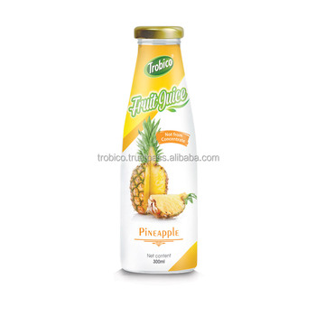 Good For Health 300ml Glass Bottle 100% Pure Pineapple