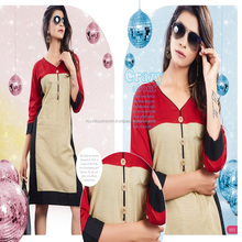 Cotton Linen fancy cotton kurti wholesale jaipur / lady kurti / ladies kurti design