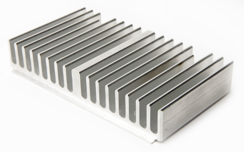 Led aluminum circular extrusion heat sink, aluminum extruded shell, T5T6 aluminum extruded heat sink