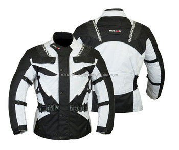 New Motorcycle Motorbike Armoured waterproof Cordura Textile Jacket Collection All Weather CE Approved