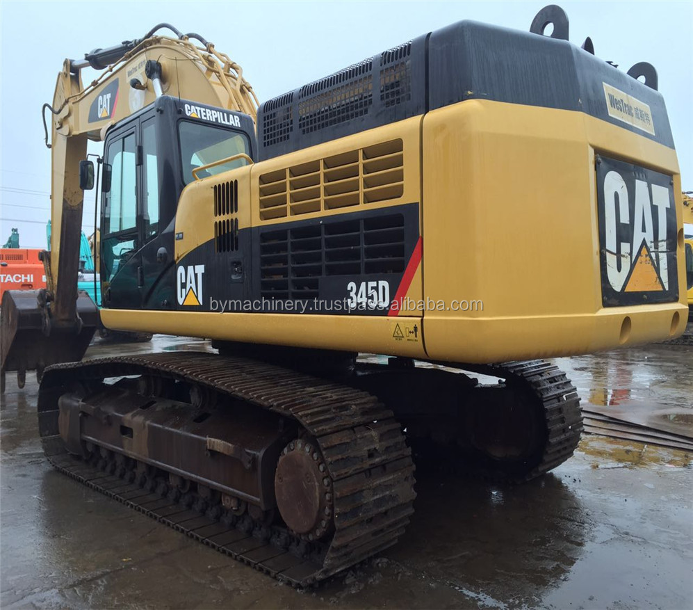 Used CAT 345 Crawler Excavator /Caterpillar Excavator 345D