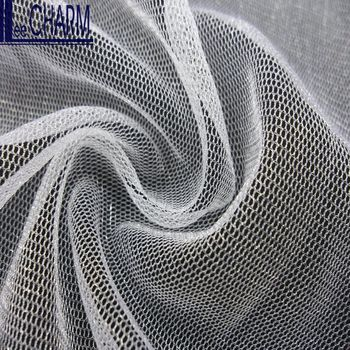 LCSH511W 30D 34gsm High Quality Nylon Tulle Fabric Mesh