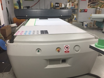 Inca Spyder 320 Flatbed UV printer