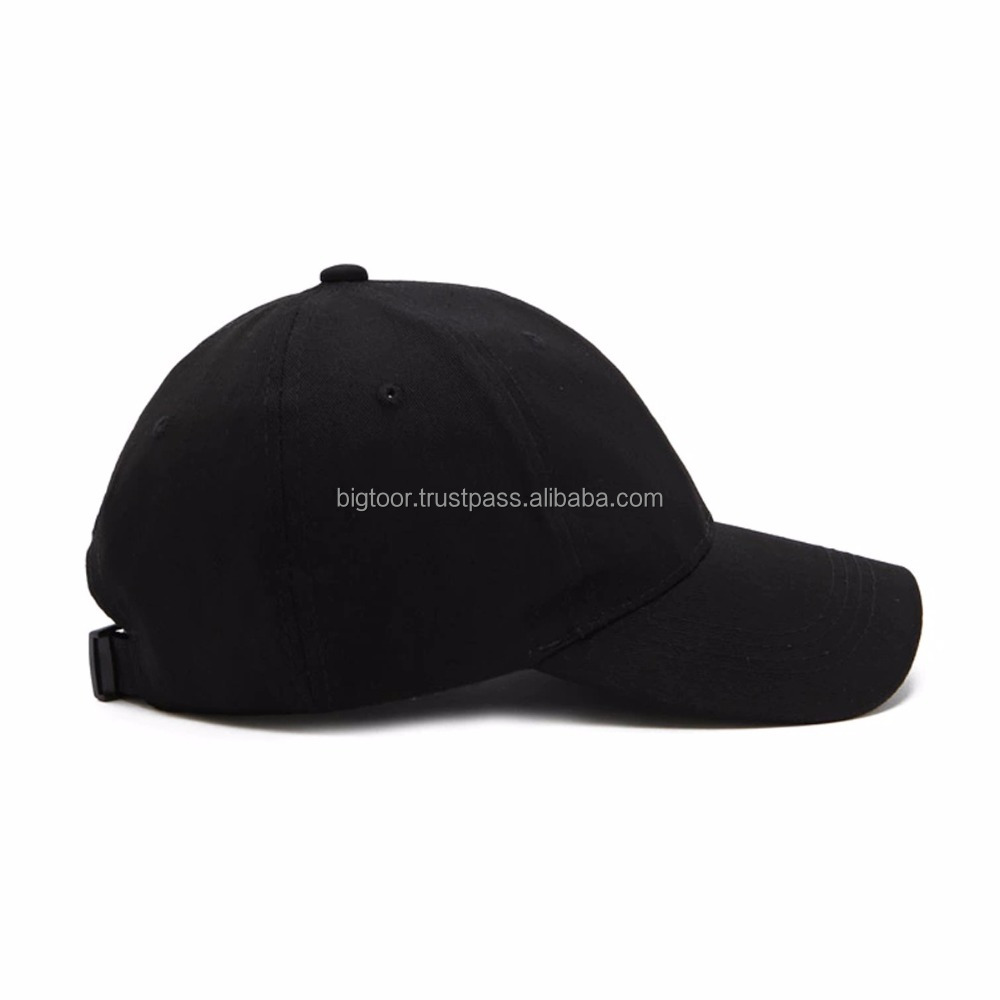 OEM Baseball Hat With Embroidered Side Panel