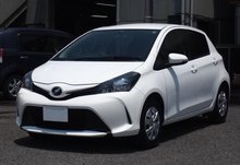 Japanese Car RHD Second Hand Hatchback 2014 Toyota Vitz yaris