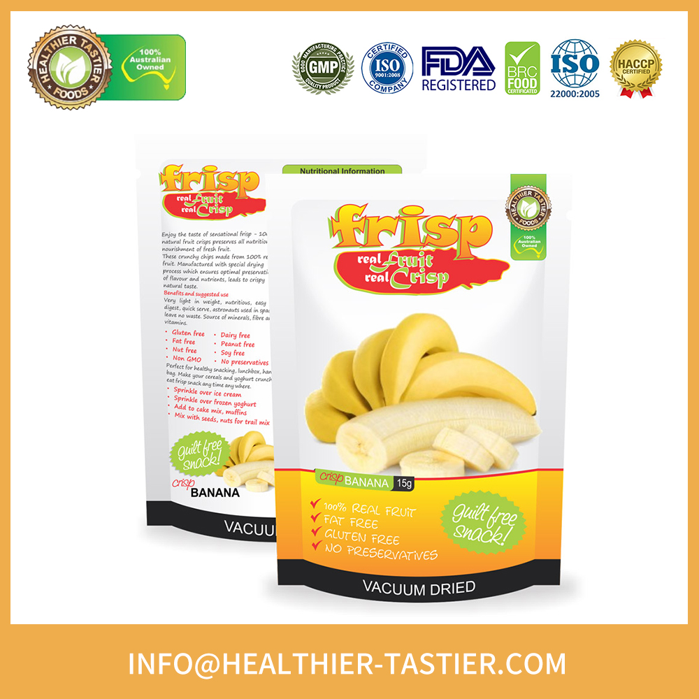 australia made custom organic banana chips importers for sale