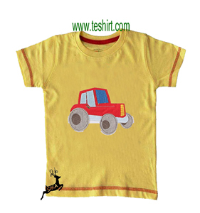 indian supplier tirupur Factory direct wholesale fashion usa style baby boys summer cotton t-shirt