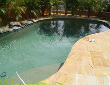 Pool Coping Teakwood Sandstone