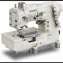 Kansai Special WX-8803F Sewing Machine - 3 Needle 5 Thread Top and Bottom Coverstitch