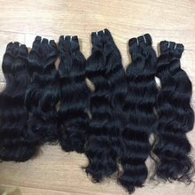 Free Shipping Full Cuticles Real Silver Fox Brazil Virgin Hair Extension