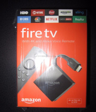 Amazon Fire TV with 4K Ultra HD and Alexa Voice Remote 3rd Gen