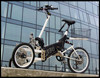 Electric trike 250 W vehicle with tilting system