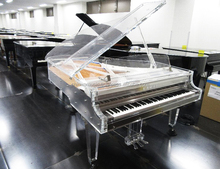 Used KAWAI Acrylic Transparent Grand Piano CR-40A with self-playing system [YAMAHA special agent in Japan]