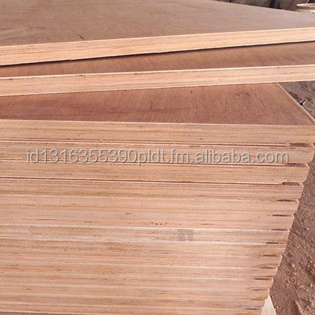 Red Meranti Commercial PLYWOOD - Block Board and MDF
