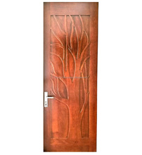 Solid merpauh wood fancy villa main entrance restaurant modern design door