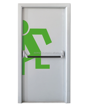 High Quality Good Price 120 Minutes Rated Metal Emergency Exit Door