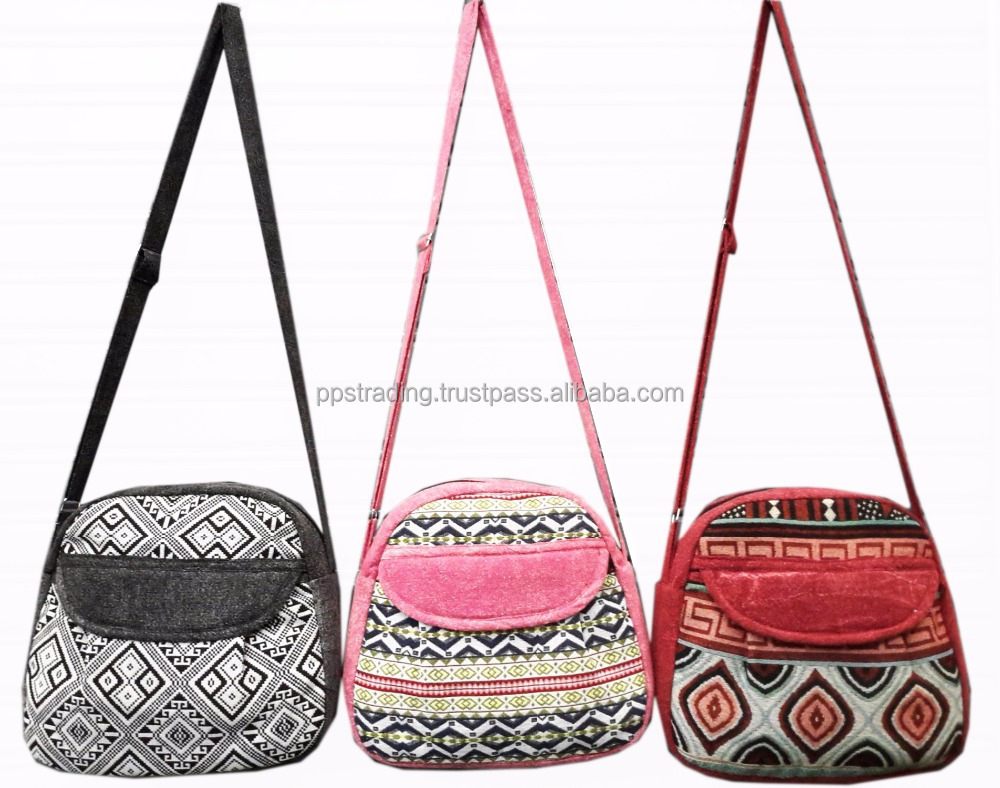 Cotton fashion lady Bags
