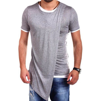 Zega Apparel Casual Designer Cut and Sew T shirt