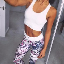 Custom ladies high quality sport yoga wear 2017 women fitness leggings