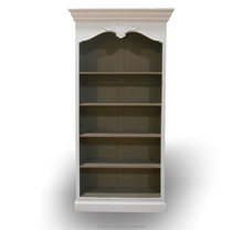 French Furniture Indonesia of Classic Mahogany Vintage Bookcase
