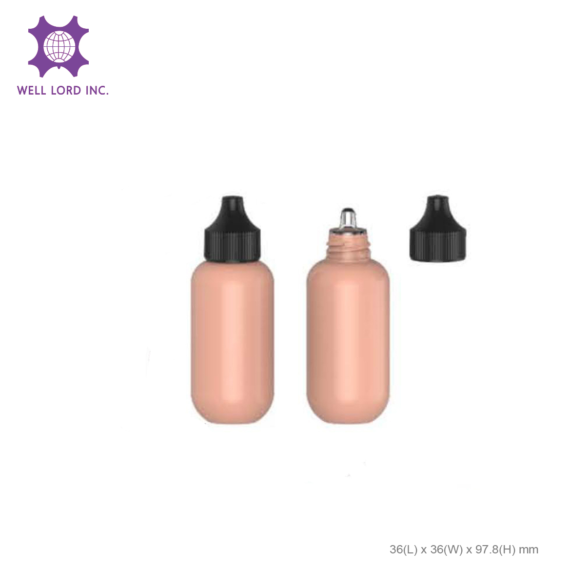 Ultimate toner serum bottle plastic screw cap plastic bottles for cosmetics
