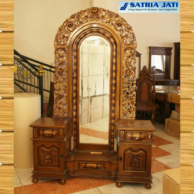 wood dressing table indonesia furniture