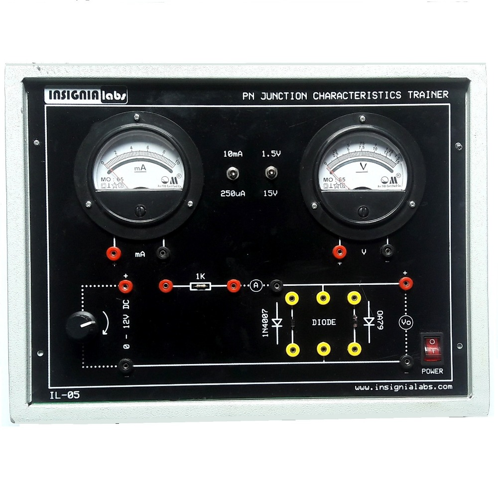 Pn Junction Diode Characteristics Trainer Kit Buy And Its Characteristicsdiode Product On