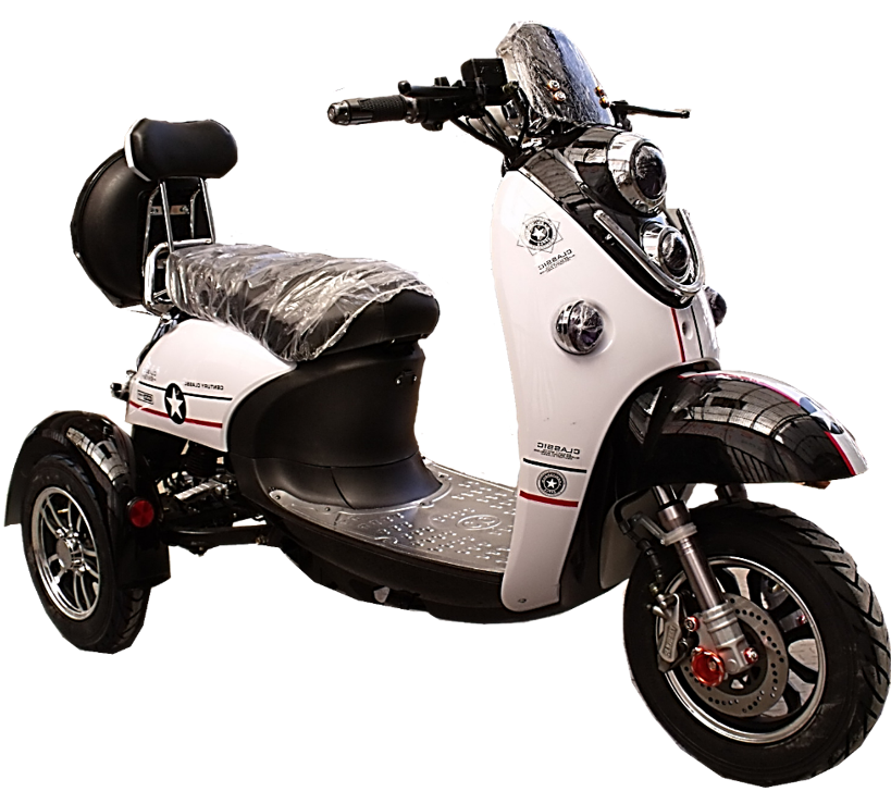 Electric Three-Wheel Moped Tayten ZES