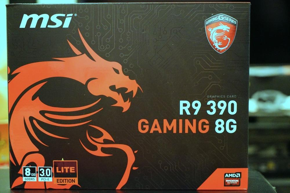 MSI AMD Radeon R9 390 Gaming 8G 8GB, Original Packaging