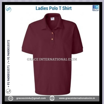 Wholesale High Quality Fashion Lady Polo T shirt