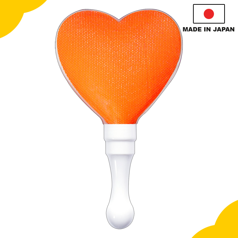Unique and best-selling pen light, Kirakira Penlight stick heart orange for concert and event, OEM available