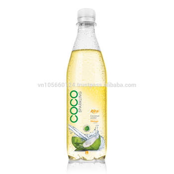 500ml Pet Bottle Fruit juice Flavor with Sparking coconut water
