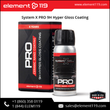System X PRO 9H Nano Ceramic Coating, 65ml case