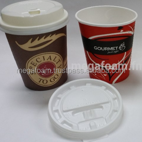 Malaysia OEM manufacturing high quality FDA certified Dia 80 paper cup sipper/ travel lid