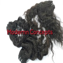 INDIAN HUMAN HAIR EXTENSIONS , VIRGIN LOOSE AND BODY WAVE