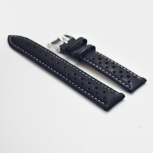 handmade genuine leather watch straps quick release 20mm luxury watch strap/band with holes