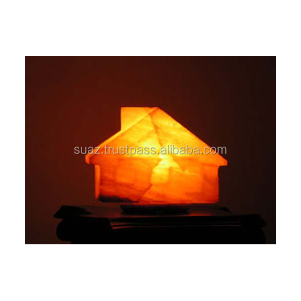 Himalayan Home/House/ Shape Salt Lamp Good-looking, Unique Himalayan House Shape Rock Salt Lamp, Decoration Piece Pakistan Made