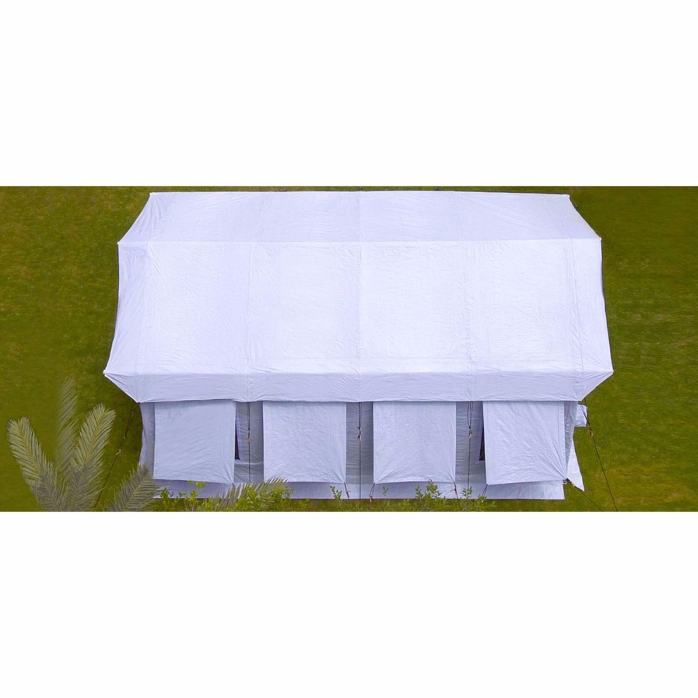 portable beach tent 30/1.20 mm galvanized steel pipes with steel cross pieces