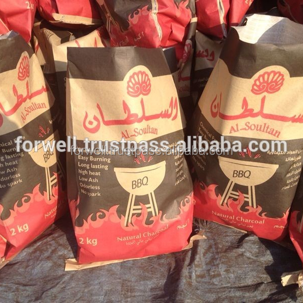 stick shape hardwood Charcoal From Egypt with Top Packing