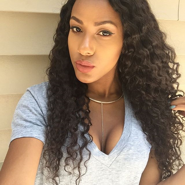 2018 Hot Sale In Usa Curly Full Lace Wig