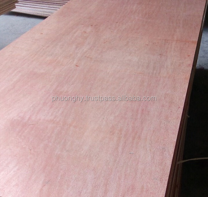Vietnam High Quality Plywood sheet Size 4x8 plywood thickness 2.5mm 8.5mm 9mm 11mm 12mm 15mm 18, grade AB BC glue MR E2 Melamine