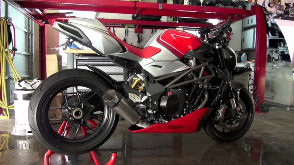 Used MV Agusta Brutale 1090RR Cannonball Motorcycle