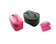 Large cosmetic bags with compartments / makeup organizer bag / makeup accessories keeping bag