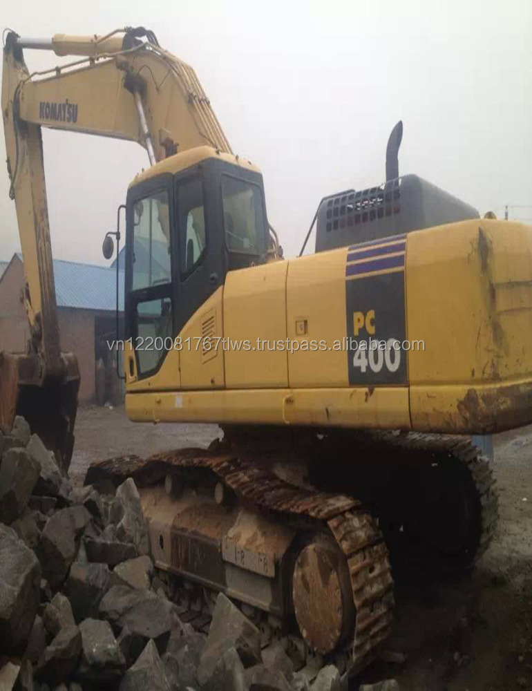 Hitachi excavator model Used Komatsu PC400-7 excavator