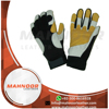 Wholesale Industrial Leather Mechanic Gloves Top