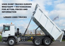used dump truck mercedes / iveco / daf europe used trucks