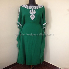 Long Sleeved Caftan Maxi Dress robe Caftan Kaftan Dubai abaya Dress maxi Marocain moroccan kleid wedding