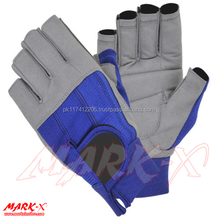 Amara Leather SAILING GLOVES YACHTING GLOVES BOAT ROPE GLOVES CUT FINGER